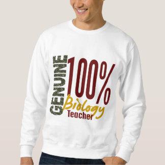 Genuine Biology Teacher Pullover Sweatshirt