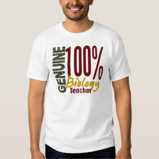 Genuine Biology Teacher T-shirt