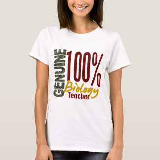 Genuine Biology Teacher T-Shirt