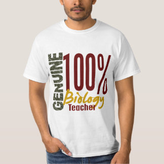 Genuine Biology Teacher T Shirt