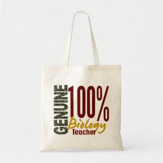 Genuine Biology Teacher Tote Bag