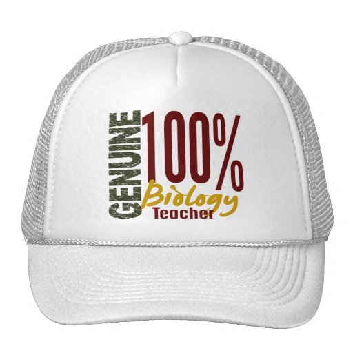 Genuine Biology Teacher Trucker Hat