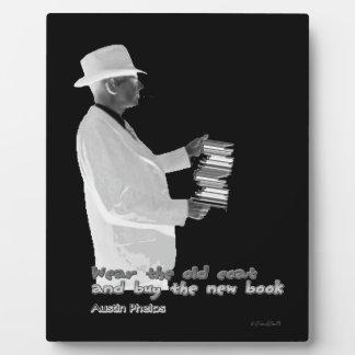 Genuine Booklover Plaque