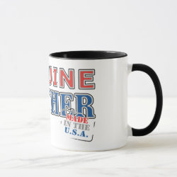 Combo Mug with Genuine Brother: Made in the U.S.A. design
