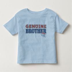 Toddler Fine Jersey T-Shirt with Genuine Brother: Made in the U.S.A. design