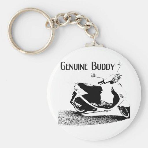 Genuine Buddy Black Key Chain