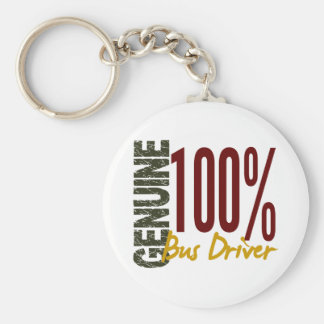 Genuine Bus Driver Keychain