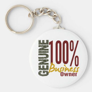 Genuine Business Owner Key Chain