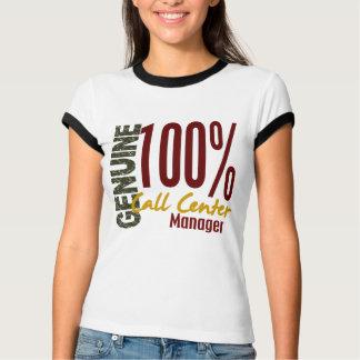 Genuine Call Center Manager T-Shirt