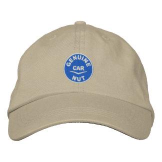 Genuine Car Nut Logo Embroidered Baseball Hat