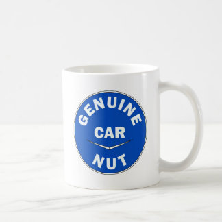 Genuine Car Nut Logo Coffee Mugs
