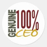 Genuine CEO Sticker