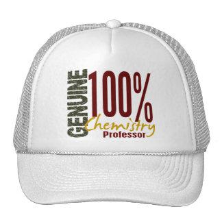 Genuine Chemistry Professor Hats
