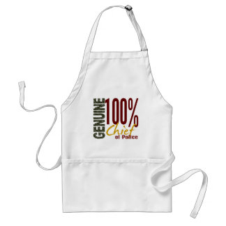 Genuine Chief Of Police Adult Apron
