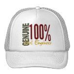Genuine Civil Engineer Mesh Hats