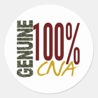Genuine CNA Classic Round Sticker