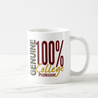Genuine College Professor Coffee Mug