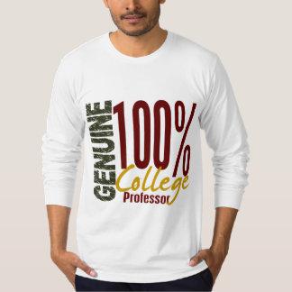 Genuine College Professor Tees