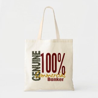 Genuine Commercial Banker Canvas Bags