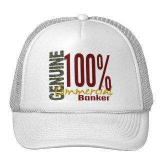 Genuine Commercial Banker Hats