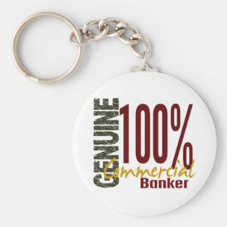 Genuine Commercial Banker Key Chain