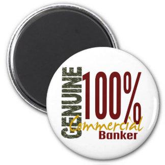 Genuine Commercial Banker Magnets