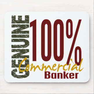 Genuine Commercial Banker Mouse Pad