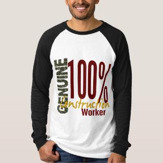 Genuine Construction Worker Tee Shirt