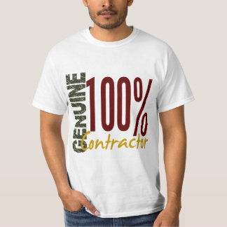 Genuine Contractor Shirt