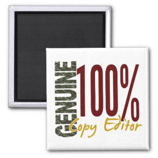 Genuine Copy Editor Fridge Magnet