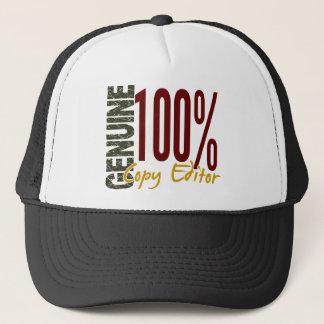 Genuine Copy Editor Trucker Hat