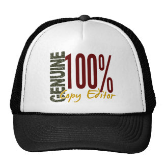 Genuine Copy Editor Trucker Hat