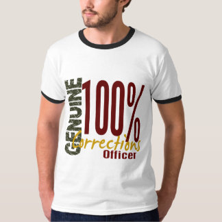 Genuine Corrections Officer T-Shirt