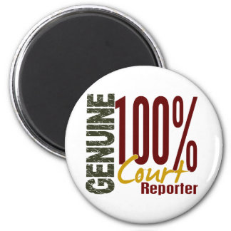 Genuine Court Reporter Fridge Magnets