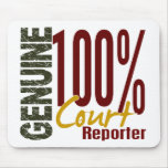 Genuine Court Reporter Mouse Pad