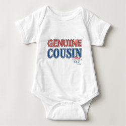 Baby Jersey Bodysuit with Genuine Cousin - Made in the U.S.A. design