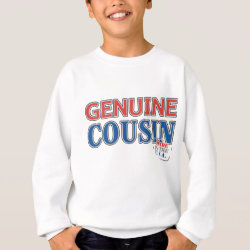 Kids' American Apparel Organic T-Shirt with Genuine Cousin - Made in the U.S.A. design