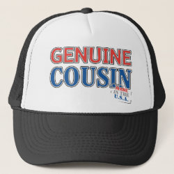 Trucker Hat with Genuine Cousin - Made in the U.S.A. design