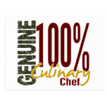 Genuine Culinary Chef Post Cards