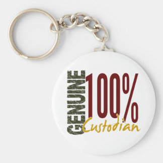 Genuine Custodian Keychain