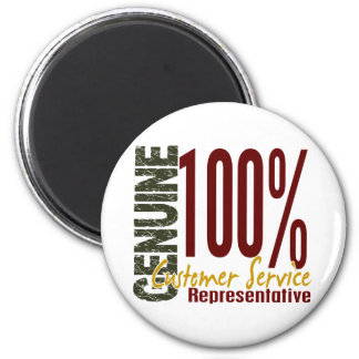 Genuine Customer Service Representative 2 Inch Round Magnet