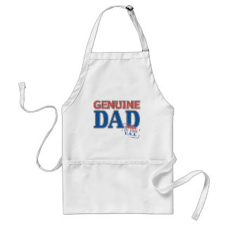Genuine Dad Adult Apron
