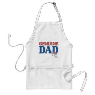Genuine Dad Adult Apron