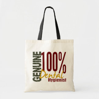 Genuine Dental Hygienist Budget Tote Bag