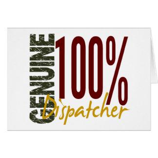 Genuine Dispatcher Greeting Cards