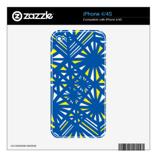 Genuine Effervescent Refreshing Patient Decal For iPhone 4