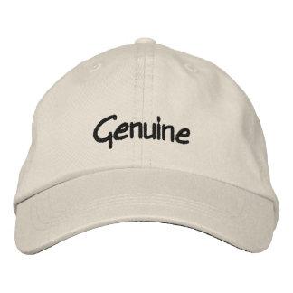 Genuine Embroidered Cap
