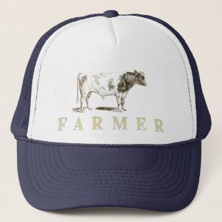 Genuine Farmer Cap With Big Old Bull Logo