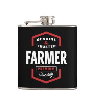 Genuine Farmer Gift Ideas Hip Flask