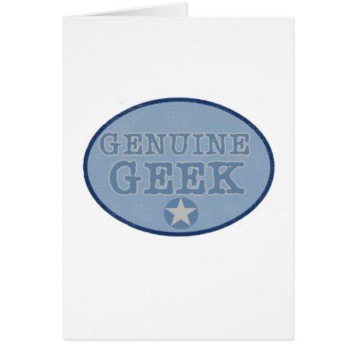 Genuine Geek Card